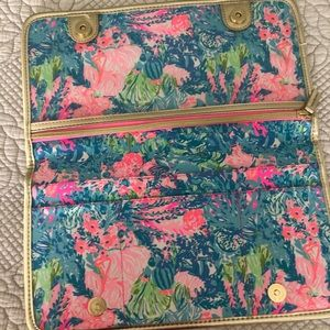 Lilly Pulitzer jewelry/make up travel case